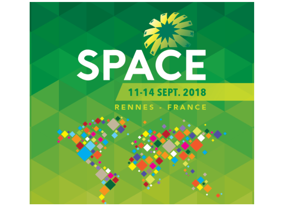 SPACE: the key global event for animal production