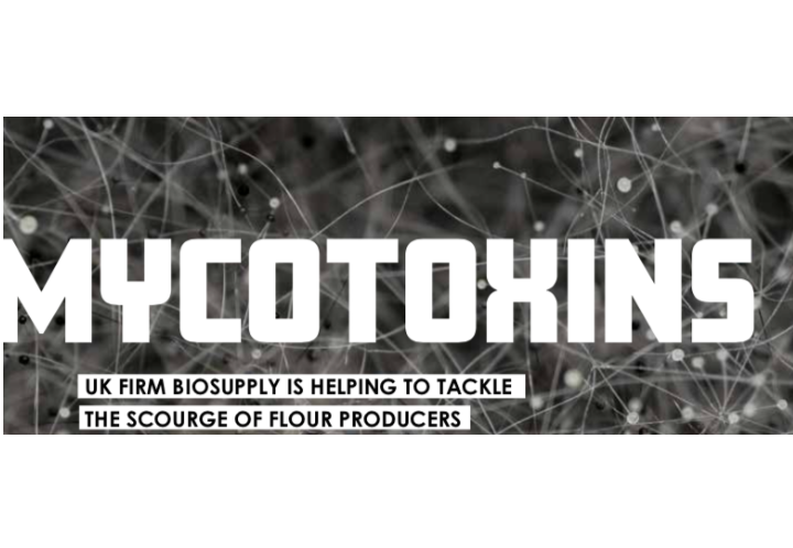UK firm Biosupply is helping to tackle the scourge of flour producers – mycotoxins