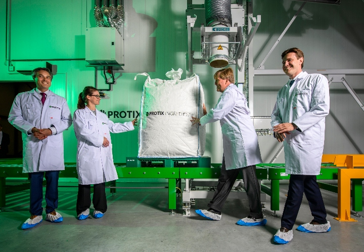Dutch King Willem-Alexander opens the world's largest and most advanced insect farm in the world at Protix