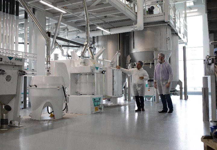 Concentrating expertise in pulses and maize at the new Bühler Food Application Centre