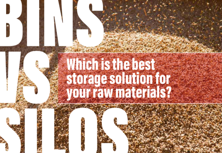 Bins vs silos: Which is the best storage solution for your raw materials?